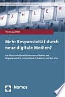 Mehr Responsivität durch neue digitale Medien?