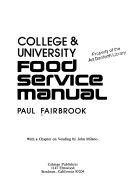 College University Food Service Manual