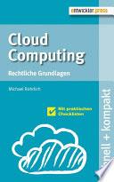 Cloud Computing  : Rechtliche Grundlagen