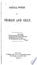 Poetical Works of Thomson and Gray