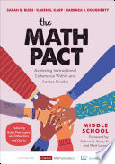 The Math Pact  Middle School