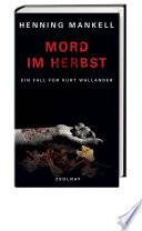 Mord im Herbst  : Roman