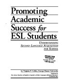 Promoting Academic Success for ESL Students