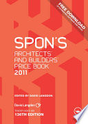 Spon s Architects  and Builders  Price