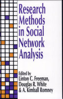Research Methods in Social Network Analysis