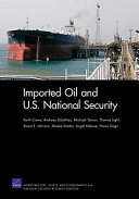 Imported Oil and U.S. National Security Pdf/ePub eBook