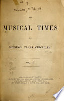 The Musical Times and Singing class Circular Book