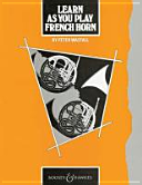 Learn as You Play French Horn