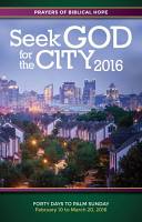 Seek God for the City 2016