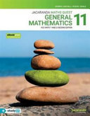 Jacaranda Maths Quest 11 General Mathematics VCE U1&2 2E EBookPLUS and Print and S/o