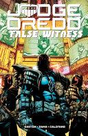 Judge Dredd: False Witness Pdf/ePub eBook