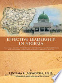 Effective Leadership In Nigeria Book PDF
