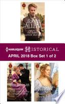 Harlequin Historical April 2018   Box Set 1 of 2 Book
