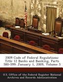 2009 Code Of Federal Regulations