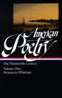 Pdf American Poetry: Philip Freneau to Walt Whitman