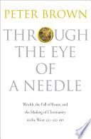 Through the Eye of a Needle Book