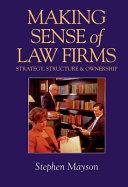 Making Sense of Law Firms