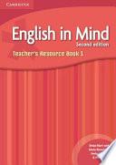 English in Mind Level 1 Teacher's Resource Book  , Livro 1