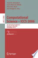 Computational Science   ICCS 2006