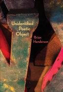 Unidentified Poetic Object