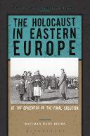 The Holocaust in Eastern Europe Pdf/ePub eBook