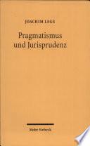 Pragmatismus und Jurisprudenz