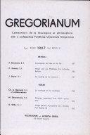 Gregorianum: Vol.48