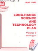 Long range Science and Technology Plan  Base support