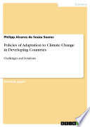 Policies of Adaptation to Climate Change in Developing Countries