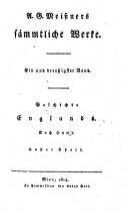 Geschichte Englands ; Nach Hume ; Erster Theil