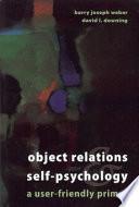 Object-Relations & Self-Psychology
