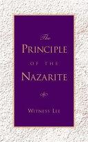 The Principle of the Nazarite