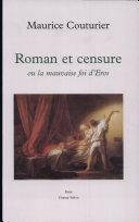 Roman et censure, ou, La mauvaise foi d'Eros