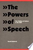 The Powers of Speech