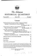 The Arkansas Historical Quarterly