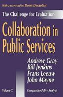 Collaboration in Public Services