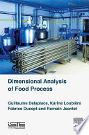 Dimensional Analysis Of Food Processes Book PDF