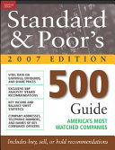Standard and Poor s 500 Guide