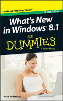 What s New in Windows 8 1 For Dummies