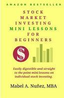 Stock Market Investing Mini-lessons for Beginners