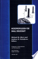 Micropropulsion for Small Spacecraft Book