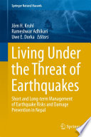 Living Under the Threat of Earthquakes Book