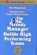 One Minute Manager Builds High Performing Teams  The Rev  Book