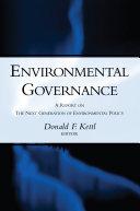 Pdf Environmental Governance Telecharger
