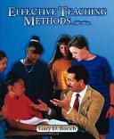 Effective Teaching Methods