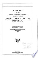 Journal of the     National Encampment of the Grand Army of the Republic Book PDF