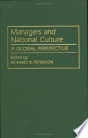 Managers and National Culture