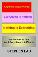 Anything Is Everything Everything Is Nothing Nothing Is Everything Book PDF