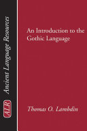 An Introduction to the Gothic Language