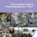 Complete Guide to Events Management Book